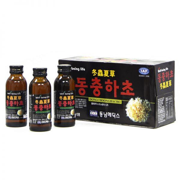 Đông Trùng Hạ Thảo Dạng Nước Hàn QuốcĐóng Chai 01