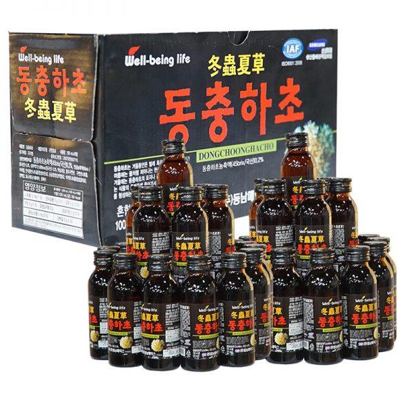 Đông Trùng Hạ Thảo Dạng Nước Hàn QuốcĐóng Chai 03